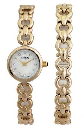 A fine ladies watch available from Ian Quartermaine Jewellers Worcester