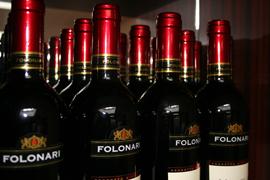 Fine wine at Worcester Restaurant
