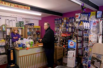 Autovac counter customer