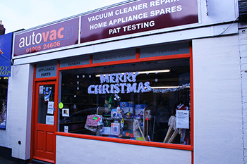 Autovac shop window
