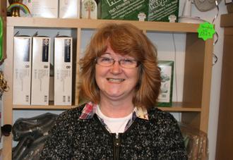 Dee Williams at Worcester Vacuum Repair shop