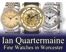 Ian Quartermaine Worcester Watches