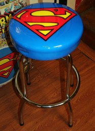Monkee Business - Superman Barstool
