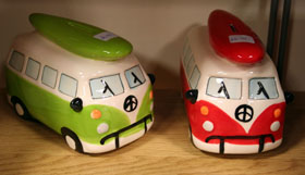 Monkee Business - VW Campervan Money Bank