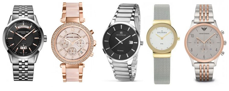 Branded watches at ICE Fine Jewellery