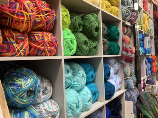 Wool in Yarn Shop Worcester